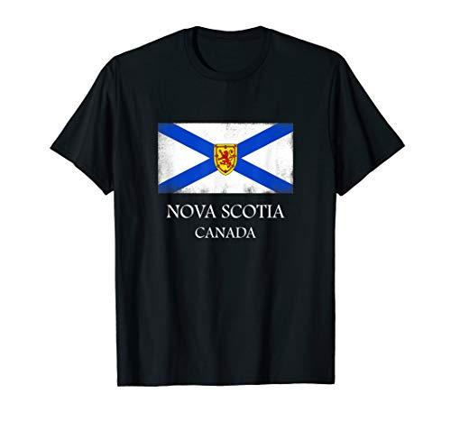 Nova Scotia T Shirt Canada Province Flag Tee (Nova Scotia Duck Tolling Retriever Club Of Canada)