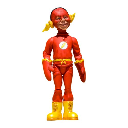 DC Collectibles Just Us League of Stupid Heroes: Series 2: Alfred E. Neuman as The Flash Action Figure ()