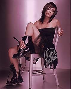 Alyssa Milano Autografiada Firmado 21cm x 29.7cm foto del cartel