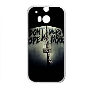 Don't Dead Open Inside Scary Pattern Brand New And High Quality Custom Hard Case Cover Protector For HTC M8
