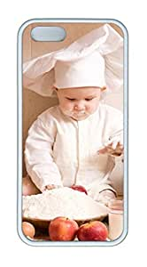 Baby chef Masterpiece Limited Design DIY Case for iPhone 5s/5 TPU White by Cases & Mousepads
