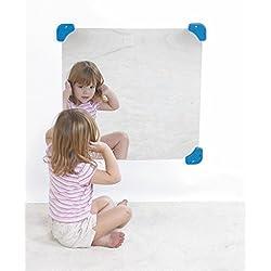 "Children's Factory 24"" Square Mirror Classroom Furniture (CF332-131)"