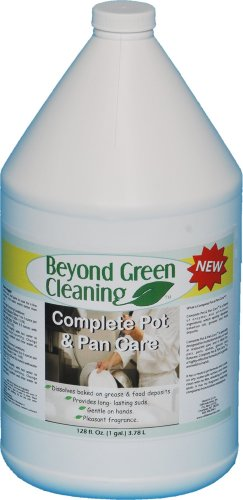 Clift Industries 6701-004 Beyond Green Cleaning Complete Pot and Pan Care Cleaner, 1-Gallon Jug (Pack of 4) by Clift Industries, Inc.