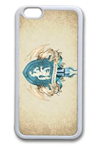 iPhone 6 plus Case, 6 plus Case - Lightweight Protective Snap-on White Case Bumper for iPhone 6 plus Stark Crest Game Of Thrones Thin Fit Soft Rubber Case for iPhone 6 plus 5.5 Inches