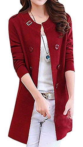 Wool Blend Button - 2