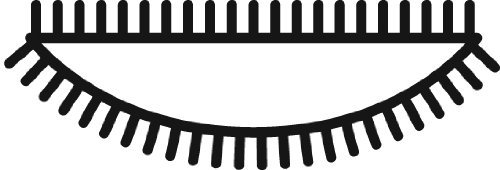 Grobet Swiss Pattern Needle File 5-1/2 Inch 1/2 Round Cut 4 by Grobet USA (Image #2)