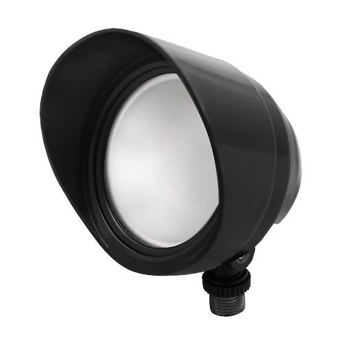 RAB Lighting BULLET12YB LED Bullet Flood, 12W, 800 lm, 3000 K (Warm), Black Finish by RAB Lighting
