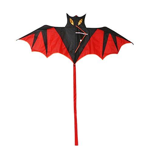 JAGENIE新しいクールバットカイト屋外凧飛ぶおもちゃ凧子供たちの子供クリスマス新年ギフト、1 PC、ランダム配信の商品画像