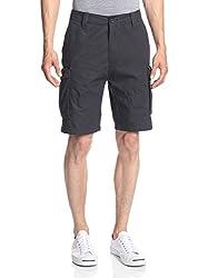 Nautica Men's Ripstop Cargo Shorts Off Black 34 X 9.5