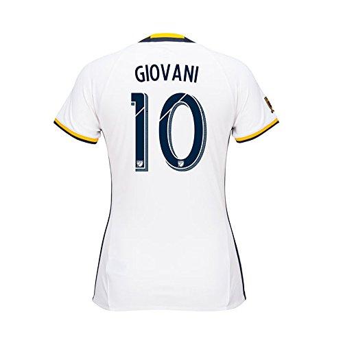 スペインバーインシュレータAdidas GIOVANI #10 LA Galaxy Home Women's Soccer Jersey 2016 (Authentic name & number) /サッカーユニフォーム ロサンゼルス?ギャラクシー ホーム用 ジオバニ レディース向け