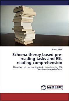 Schema theroy based pre-reading tasks and ESL reading comprehension: The effect of pre reading tasks in enhancing ESL readers comprehension