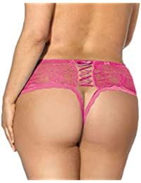 Women {Lace Thongs G-String T-Back Lingerie} {Crotchless Briefs Panties Thongs} {Sexy Knickers Underwear}