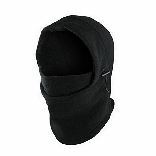 Mens Warm Helmet, Bolayu Winter Face Hat Fleece Hood Ski Mask
