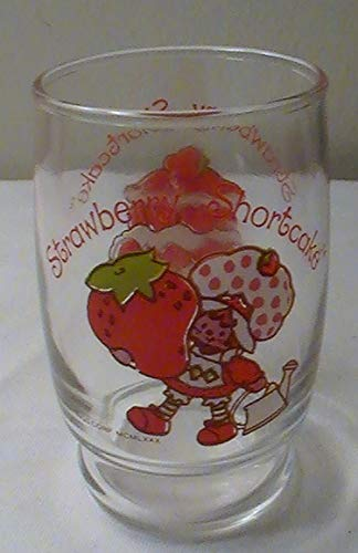 (Vintage 1980 Strawberry Shortcake 6 Oz. Juice Glass)