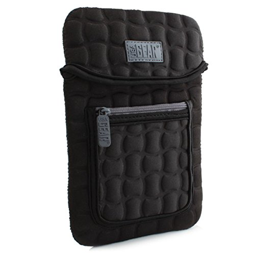 Rca Pocket - USA Gear FlexARMOR X Neoprene Tablet Carrying Case with Durable Protection, Accessory Pocket, and Hand Strapped Security for RCA Cambio 10.1 and More