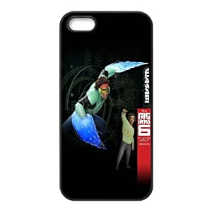 Printed Phone Case Big Hero 6 Baymax For iPhone 5, 5S NC1Q03114