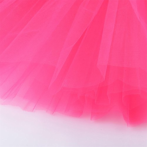 TIFENNY Dress mesh Half Gauze Pink Hot Adult Skirt Waist Hot Mesh Dancing Solid Womens High Tutu Sale Pleated Pnw0qzZ4