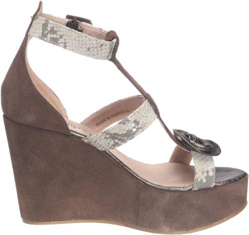 Sandalias Myflower Beige para Wedge mujer Leather 16322 Lollipops xIqpdI