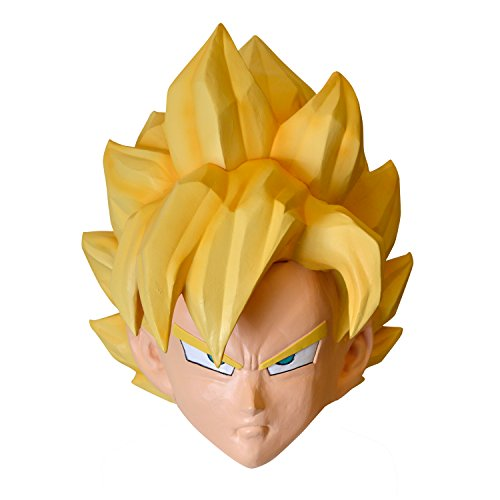 Dragon Ball Z Goku High quality Mask accessories for (Best Goku Costume)
