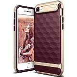 Caseology [Wavelength Series iPhone 8 / iPhone 7 Case - [Stylish & Protective] - Burgundy