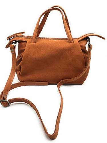 Ladies Women's Vintage Cowhide Genuine Leather Handbag Shoulder Bag Satchel Hobo Tote Bag Purse Crossbody Bag