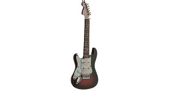 Adorno de Navidad para Guitarra Eléctrica (para zurdos), color marrón: Amazon.es: Hogar