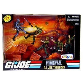 G.I. JOE Exclusive Action Figure Troop Builders Set Firefly Vs. GI Joe Troppers ()