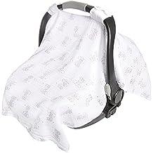 aden by aden + anais car seat canopy, safari babes- elephant