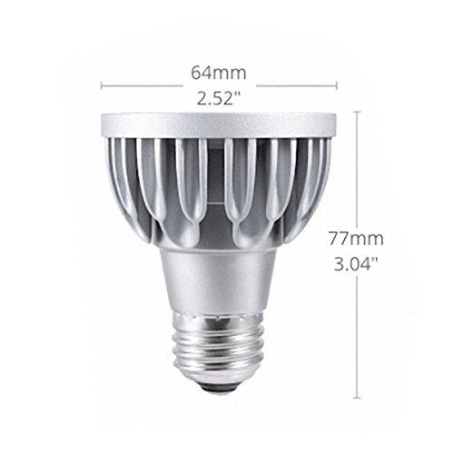 soraa Vivid PAR20 espectro total LED Spot, para E27, 95 CRI, 11 W, 10 °, 3000 Kelvin: Amazon.es: Iluminación
