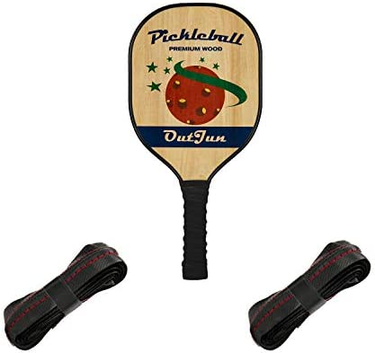 OutJun Pickleball Paddles Set with Overgrip Replacements