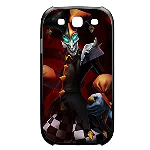 Shaco-001 League of Legends LoL For Case Iphone 4/4S Cover Plastic Black