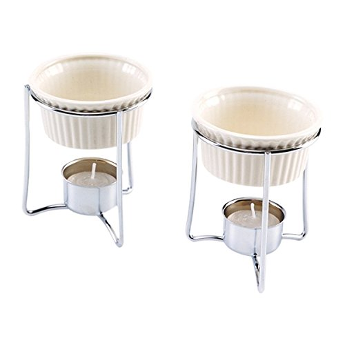 Norpro Count Ceramic Butter Warmers