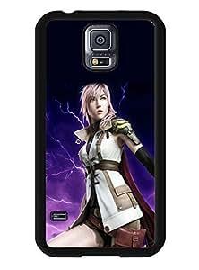Samsung Galaxy S5 I9600 Case Final Fantasy Fan Art Pattern