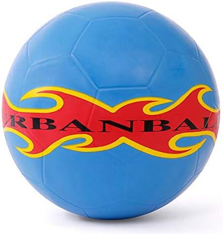 Urbanball SkyFire Balón de fútbol freestyle, azul: Amazon.es ...