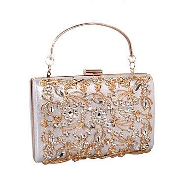 de formelle glace bureau pierres mariage KYS carrière pu coquillages Silver sac sacs les soirée essuie de fête événement colorées papillon Femmes qfzSzwxF