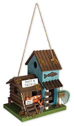 Sunset Vista Designs BPS-03 Decorative and Functional Outdoor Birdhouse, Bait & ()