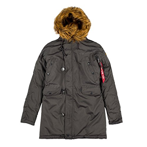 Explorer Alpha Patches Jacket o Industries Rep w WMN grey Women's tvrUwxqPv