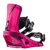 Flux Xf 2018/19 Snowboard Bindings Size Neon Pink, Medium
