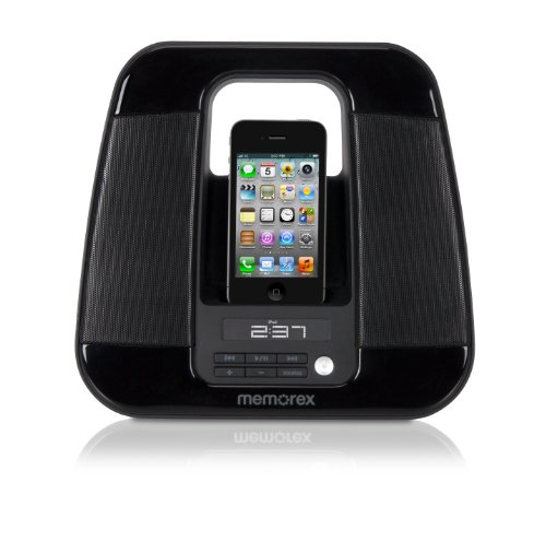 Memorex MA2213 Ultra Portable Travel Speaker for iPod and iPhone (Dock Travel Ipod)