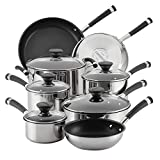Cheap Circulon 70514 13-Piece Stainless Steel Cookware Set