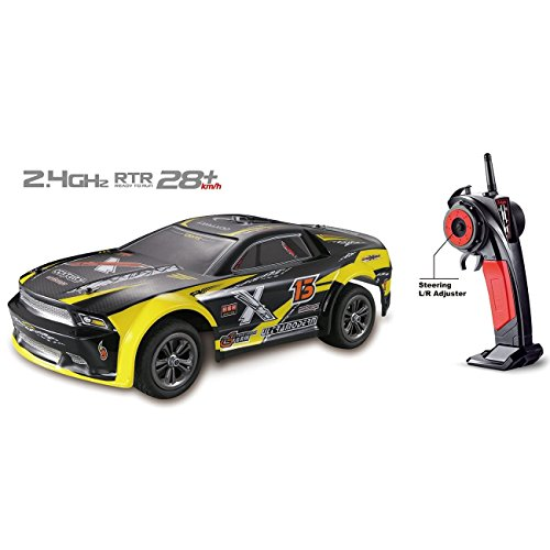 FMTStore 9118 Remote Control Truck 1/12 Scale RC Cars Electric Off Road 2.4Ghz 2WD High Speed 28+KMH Racing RC Toy Car (Assorted Color)