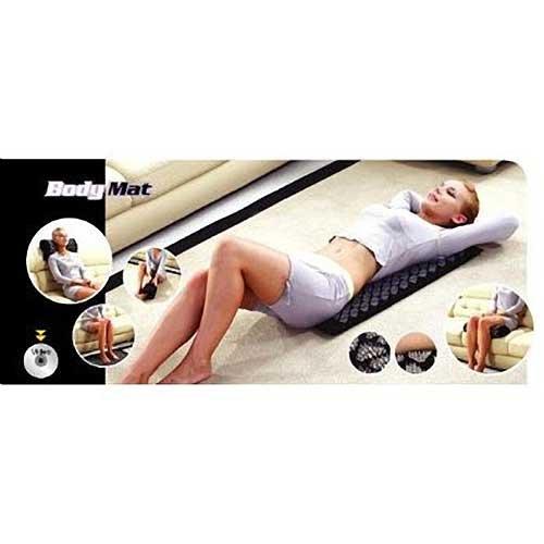 Mat Acupressure corps Spike Mat pour le stress, la douleur au cou, maux de dos ou de soulagement de la douleur pied
