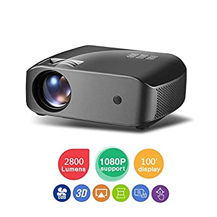 Amazon.com: ZUEN 2800 Lumens 1920X1080 Real Full HD ...