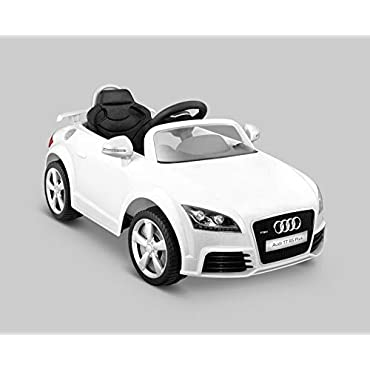 Kid Motorz 401 Audi Tt Rs One Seater Car, White