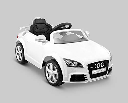 Kid Motorz 401 Audi Tt Rs One Seater Car, White (Car Licensed)