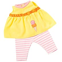 """Manhattan Toy Baby Stella My Treat Baby Doll Outfit for 15"""" Baby Stella Dolls (New for 2017!)"""