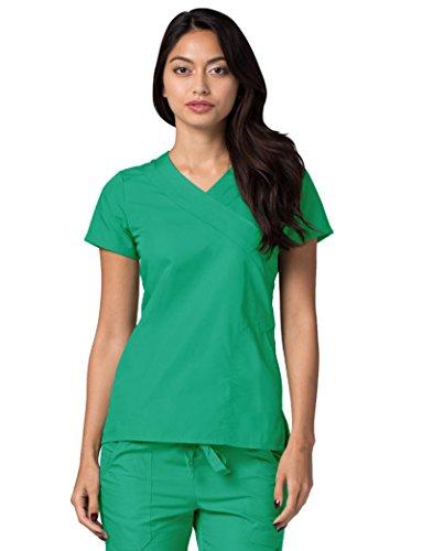 Infermiera Donna Ospedale Mediche Adar spearmint Parte Uniformi Da Lavoro Superiore Verde Camice 1q0BwqR