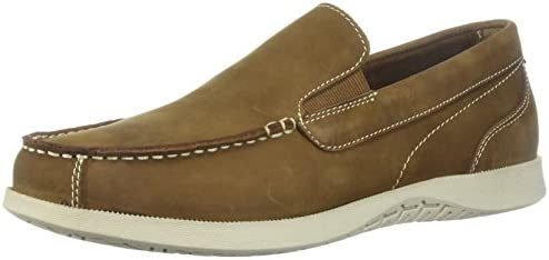 Nunn Bush Men S Bayside Venetian Slip On Boat Shoe Tan 8 5