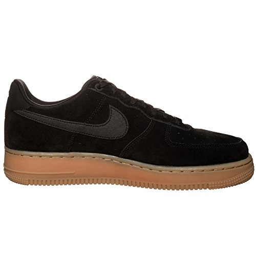 huge surprise for sale outlet best place NIKE Men's Air Force 1 '07 LV8 Suede Basketball Shoe Black/Black-gum Medium Brown cheap looking for for sale the cheapest fashionable online qPbhX3D