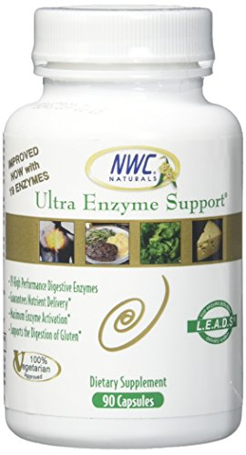 NWC Naturals Ultra-Enzyme Support Digestive Enzymes, 90 Count